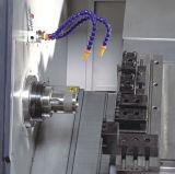 CNC automático de la base inclinada Cka6135 que da vuelta a las máquinas de herramientas horizontales del torno con el oscilación 400