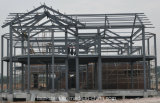 Villa della struttura d'acciaio del Multi-Pavimento con la scheda del composto del cemento di ENV