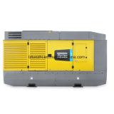 Compresor de aire diesel portable doble de la presión 8.6bar 10.30bar de Copco del atlas
