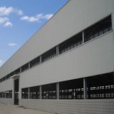 Pakhuis van de Bouw van het Staal van het Pakhuis van het Staal van de Bouw van de Staalfabriek het Prefab