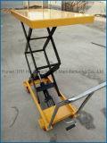 Table élévatrice hydraulique de ciseaux de main