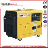 5kw/5kVA Diesel van de enige Fase de Lucht Gekoelde Draagbare Reeks van de Generator