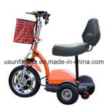 Самокат удобоподвижности горячего колеса сбывания 3 электрический с удобным местом