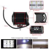 최고 밝은 IP68는 짧은 LED 표시등 막대 줄 4inch 30W 4X4 이중으로 한다