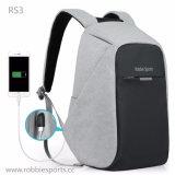 Sac à dos externe d'affaires de fournisseurs de la Chine de sac à dos de sac d'hommes de l'ordinateur du sac à dos à extrémité élevé USB de sac