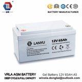 12V batteria al piombo ricaricabile 65ah per l'UPS