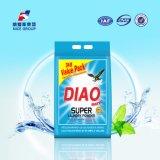 Poudre très active de blanchisserie de paquet de valeur de la marque 3kg de Diao