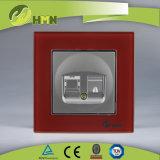 Zoccolo certificato di DATI del NERO del vetro temperato di standard europeo dei CB del CE di TUV