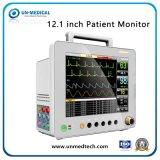 Moniteur de signes vitaux de 12,1 pouces Multi-Parameters moniteur patient avec ECG + SpO2+PB
