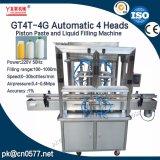 Автоматические затир поршеня и машина завалки жидкости для лосьона (GT4T-4G)