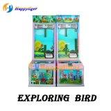 Macchina d'esplorazione del video gioco del campo da giuoco di divertimento della galleria dell'uccello