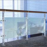 De Balustrade van het Roestvrij staal van de spiegel/van de Vlek voor het Systeem van het Glas