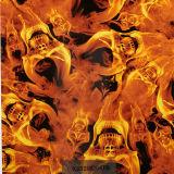 Película K01zs3559A de la impresión de la transferencia del agua de la película de China PVA del fuego del cráneo