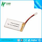 Alta batteria di litio del polimero 752540 RC di tasso 15c 3.7V 600mAh di scarico per il modello di RC