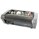 indicatore luminoso capo mobile del fascio del ragno di 8*10W LED per la strumentazione della fase della discoteca del randello del DJ