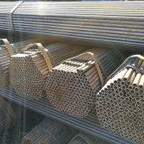 Tubulação soldada Dn200 do metal ERW Q345 Q235B ERW da câmara de ar do material de construção aço redondo preto oco