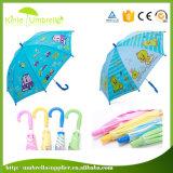 最もよい量のまっすぐな安全子供の傘のカスタムプリント