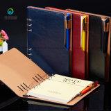 Custom vintage en cuir noir pour ordinateur portable de PU Journal Journal Retro Carnet de notes avec stylo