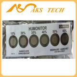 Rh10%-60% étiquette d'indicateur d'humidité de six POINTS pour l'emballage sec de vide