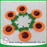 По мнению подсолнечника мягкие одежды Applique швейных DIY Craft цветок