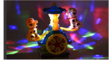Cane e giocattoli elettrici di Seasaw con indicatore luminoso e musica