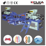 Auto Controle Hidráulico TPR PVC sandálias máquina extrusora de molde superior