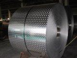 Het kleur Met een laag bedekte Gipspleister In reliëf gemaakte Blad/de Plaat van het Aluminium van de Spiegel Geruite