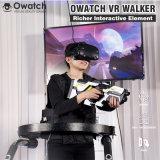 Amusement Park la lutte contre la machine de jeu interactif de prise de vue VR 9D de réalité virtuelle Walker de tapis de course
