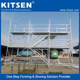 De hoge Steiger van het Systeem van de Toegang Ringlock van het Staal van de Veiligheid en van de Sterkte Modulaire