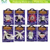 24PCS vendent les jouets mous de nouveauté de gosses de Fanny de monstre de créature du plastique TPR Stiky