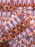 Ткань печатание перехода полиэфира шифоновая для платья