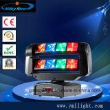 DJ 장비 점화를 이동하는 소형 8*3W 크리 사람 R G B W 소형 LED 이동하는 맨 위 미친 포켓 LED