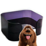 Het comfortabele Grappige AcrylBed van de Kat van het Bed van de Hond van het Huisdier
