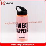 550 мл портативный питьевой бутылки с соломы, емкость (KL-7147)