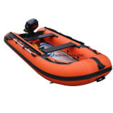 Venta caliente barata sentarse en aluminio inflables Kayak Pesca Jet / Bote