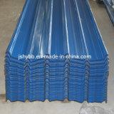 Las hojas de techos de zinc corrugado de aluminio