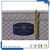 Latex comprimé confortable de matelas de bâti de ressort de mousse de mémoire de qualité