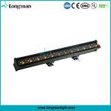 Het LEIDENE Systeem van de Verlichting/60X3w maakt het Licht van de LEIDENE Was van de Muur waterdicht