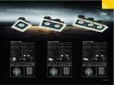 7wx3 projecteurs de gril de l'ÉPI DEL pour l'éclairage de dessin-modèle