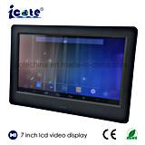 Nouvelle tendance 2018 Cadre photo numérique de l'écran LCD 7 pouces avec WiFi/affichage vidéo
