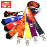 Wholesale Cheap Custom Jacquard logo Lanyard with term day Holder