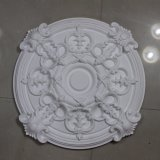 Plafond rond Rose Hn-059 d'unité centrale de médaillons de plafond de polyuréthane de cru