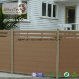 Cerca comercial doméstica de aluminio decorativa del poste WPC