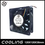 12038 120mm Bitcoin Miner a pilas Ventilador de refrigeración