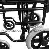 """Las paréntesis de la cruz doble, pulverizan el sillón de ruedas de acero revestido, manual Kbw871I-16 """""""