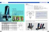 Manual de 2 pulgadas de tipo T gran filtro de disco de riego