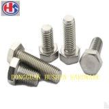 Custom углеродистой стали шестигранный болт (HS-HB-022)