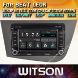 De Vensters van Witson zenden StereoSpeler DVD voor Zetel Leon via de radio uit