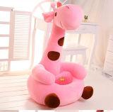 Стул детей Giraffe, место стула плюша мягкое для малышей