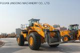 Jingongの高品質Jgm761FT21K 21tonsの石造りのフォークリフトのローダー